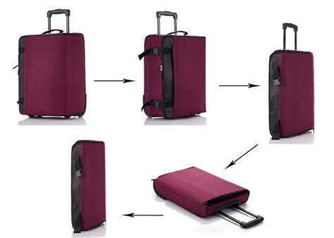 Cabin Luggage Singapore by Luggage Foldable Collapsible Light And Most Compact
