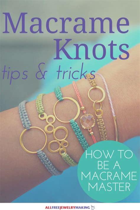 How To Make Macrame Knots - 25 unique macrame knots ideas on macrame