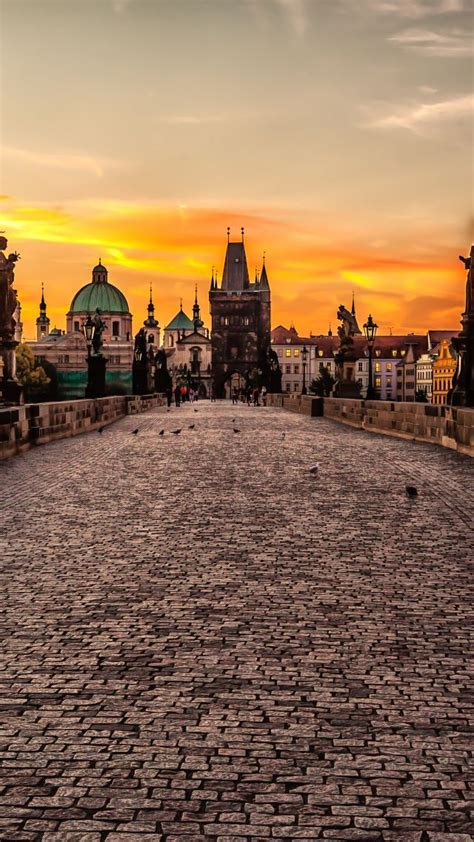wallpaper mystic prague  czech republic tourism