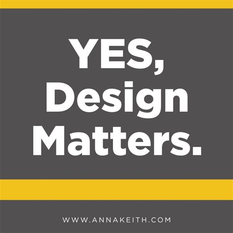 typography matters yes design matters annakeith