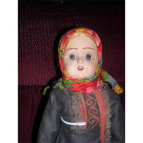 russian bisque doll 16 quot russian bisque tagged doll 1754315