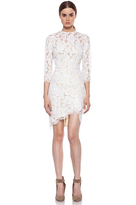 White Lace Dress white lace dress dressed up