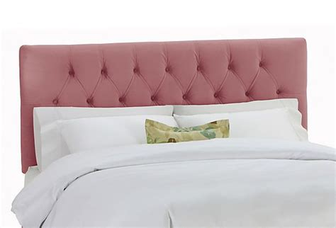 pink tufted headboard pink padded button tufted headboard pink stuff