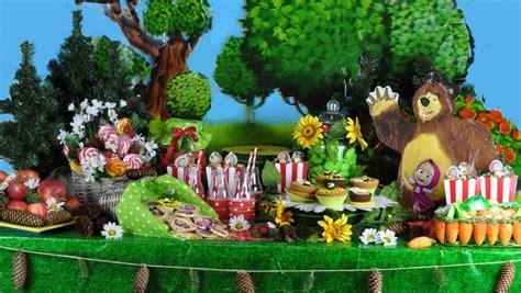 l orso della casa festa masha e orso buffet wimiblog