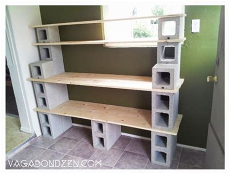 cinder block projects   homestead mom   prep