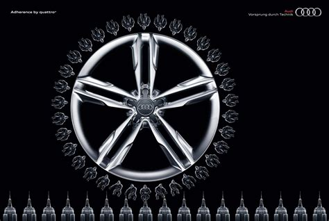 Audi Quattro Werbung by Audi Print Advert By Bbdo Monkey Ads Of The World
