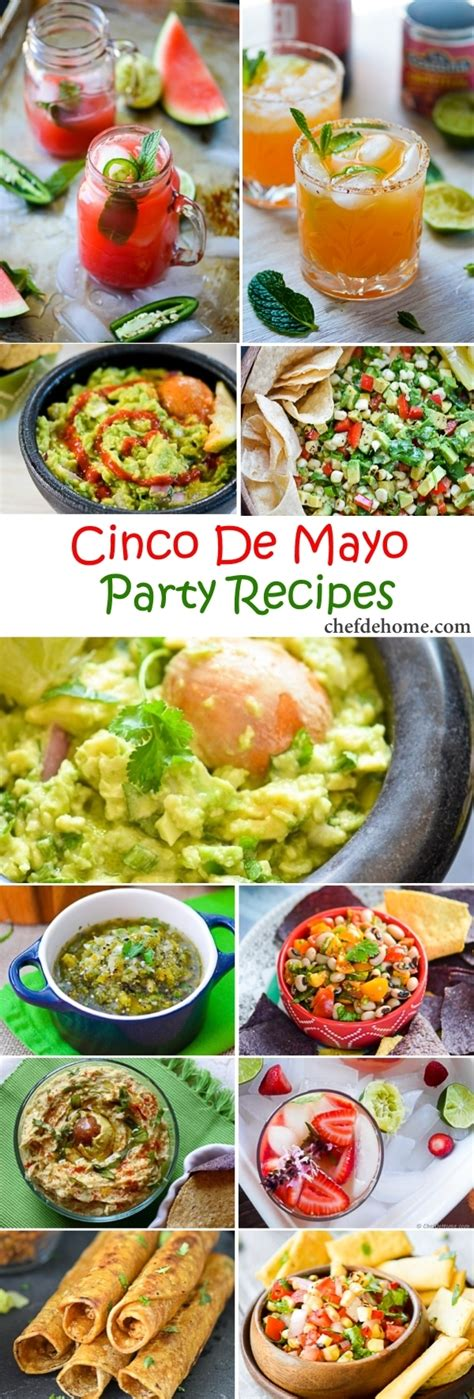 Come With Me Cinco De Mayo Menu by Easy Mexican Cinco De Mayo Recipes Meals