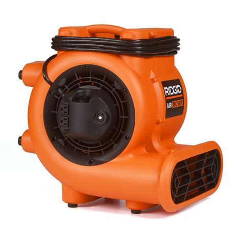 fans home depot ridgid 1625 cfm blower fan air mover with chain