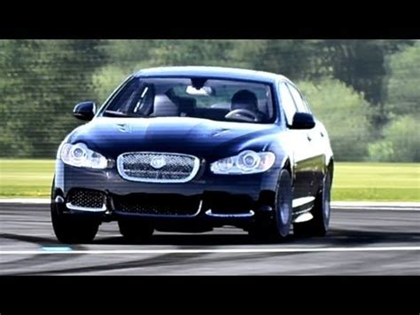 jaguar on top gear jaguar xfr top gear track