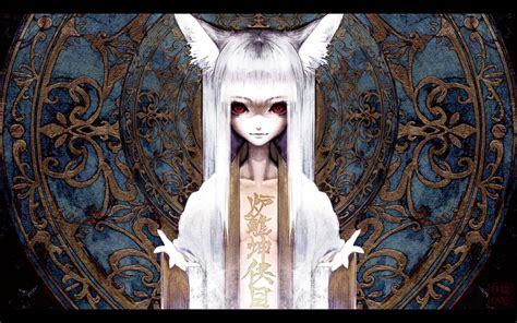 anime girl creepy wallpaper girl cat wallpapers and images wallpapers pictures photos