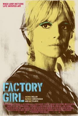 what is a biographical film called twist and shout factory girl edie sedgwick