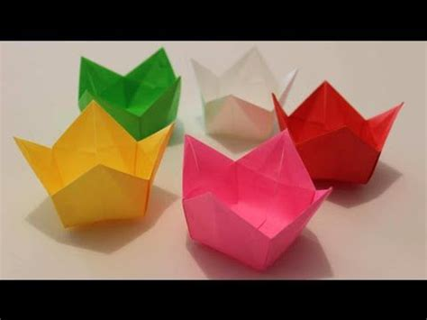 Origami Popcorn Box - 1000 images about origami boxes on