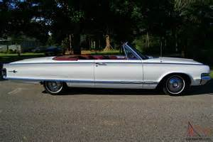 1965 Chrysler Convertible 1965 Chrysler 300 Convertible Survivor Only 1416 Made