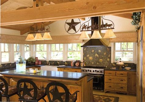 western rustic kitchen images home design and decor