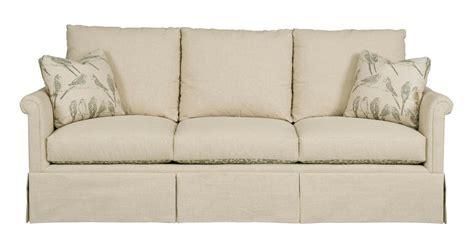 sofa with skirted base kincaid furniture modern select customizable grand sofa
