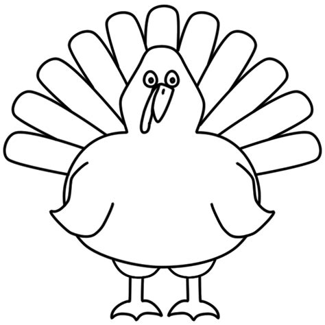 turkey image coloring page turkey coloring pages
