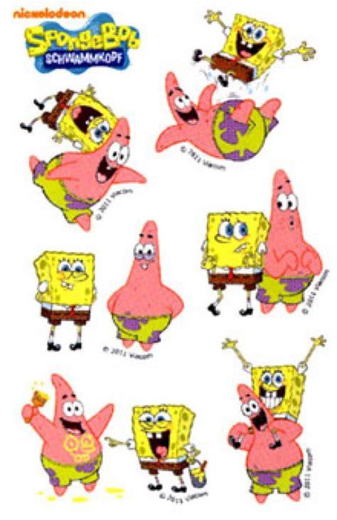 Sticker Kulkas Motif Spongebob 6 stickers spongebob mix