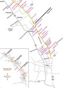 napa valley wineries map silverado trail south end