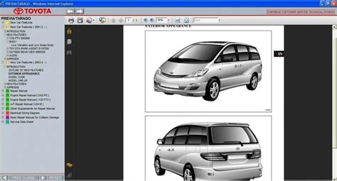 where to buy car manuals 1995 toyota previa transmission control toyota previa tarago 2000 2006 service repair information manual