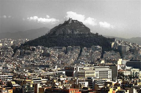 turisti per caso atene veduta di atene dal partenone viaggi vacanze e turismo