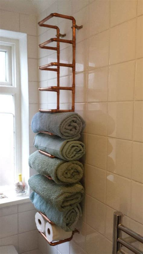 bathroom towel holder ideas 30 brilliant diy bathroom storage ideas amazing diy