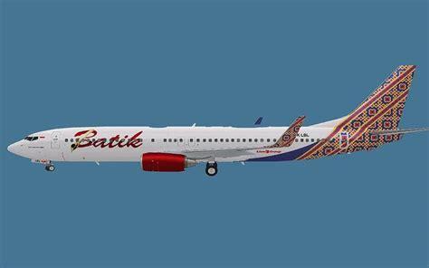 batik air boeing 737 fs2004 batik air boeing 737 800 by achmad aswandana fsx