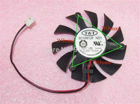graphics card fan replacement 6010m12f nd1 55mm graphics video card vga cooler fan