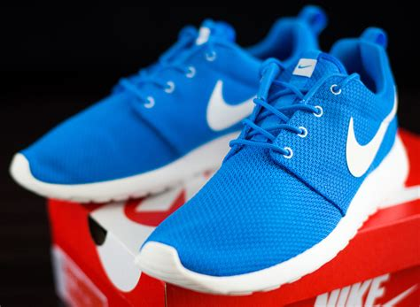 nike roshe run blue hero sneakernewscom