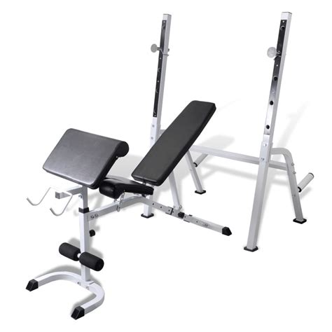 fitness bench multi exercise workout bench www vidaxl com au