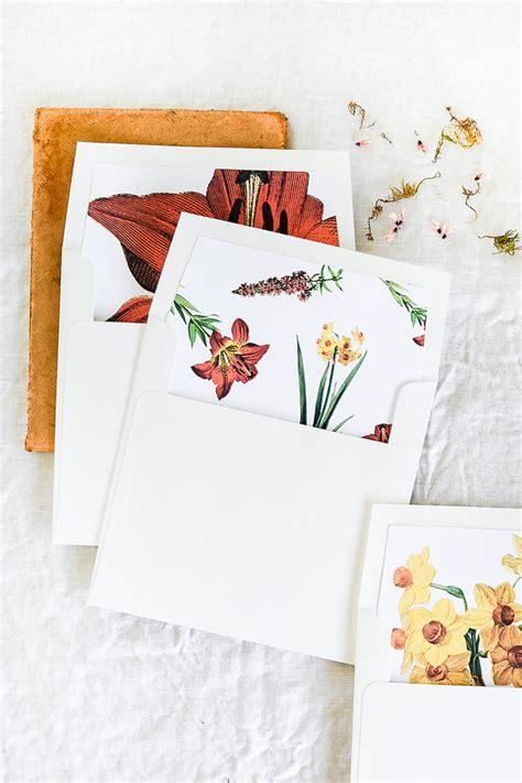 printable envelope liners free printable envelope liner for spring scrap booking