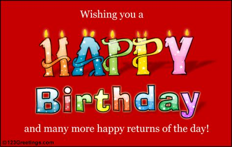 123 Search Free 123 Free Greeting Cards Birthday Ecards