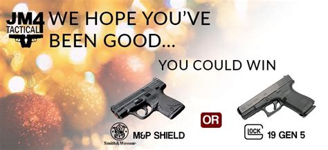 Tactical Giveaway - jm4 tactical to give away a glock 19 gen 5 for christmas