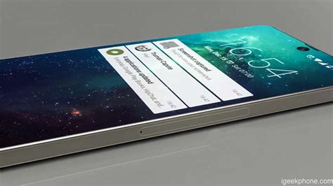 Samsung Galaxy S10 4k Screen by Samsung Galaxy S10 Concept Has 97 Screen To Ratio Front Embedded Display