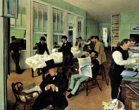 Un Bureau De Coton 224 La Nouvelle Orl 233 Ans D Edgar Degas Le Bureau Orleans