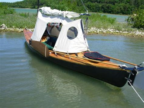 boat song please your thought s for a canoe tent please