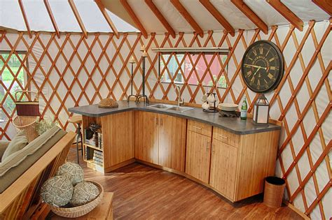 Custom Home Floor Plans Free yurt interiors pacific yurts