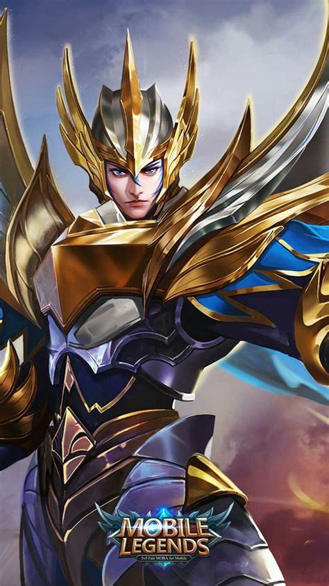 pin oleh bayu kanbara  mobile legend wp mobile legend