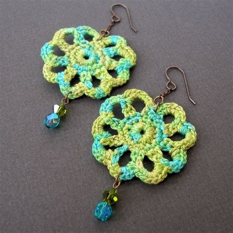 What Do You Think Of These Crocheted Earrings by 16 Cool Crochet Earring Patterns Guide Patterns