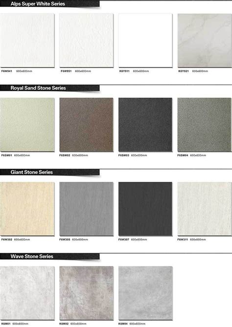 tile layout names latest design rustic unbreakable names of bathroom tiles