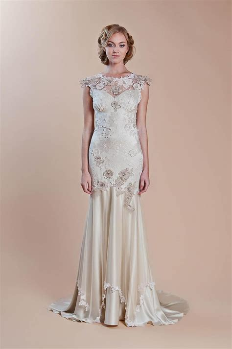 1920's Style Wedding Dresses for Dream Vintage Wedding