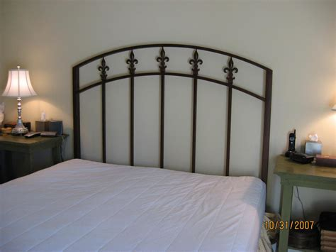 wire headboard iron headboard vintage styles doherty house