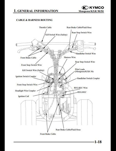 wiring diagram kymco 50 kymco agility 50 wiring