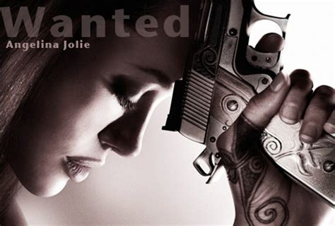 angelina jolie tattoo in wanted movie wanted