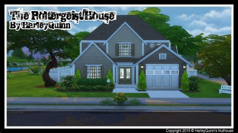 poltergeist house the poltergeist house 2015 at harley quinn s nuthouse 187 sims 4 updates