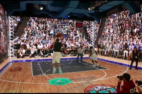 basketball interactive this interactive basketball court lets you re enact
