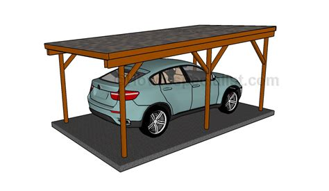 How To Build A Car Port how to build a carport howtospecialist how to build step by step diy plans