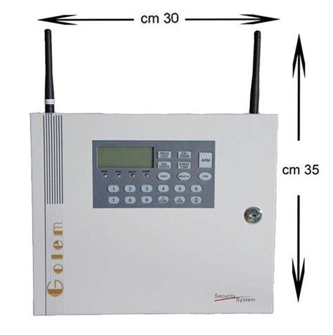 antifurto casa gsm kit allarme gsm wireless golden solar