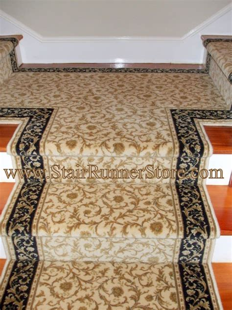stair landing rug quot t quot landing or hallway stair runner traditional rugs new york by the stair runner store