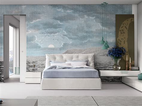 Carta Da Parati Inkiostro Bianco by Carta Da Parati Panoramica Sky Collezione Wallcovering