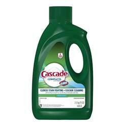 Pre Wash Dishwasher Detergent Cascade Complete Dishwashing Detergent Liquid Fresh Scent